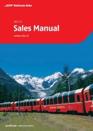 Sales Manual - Graubünden