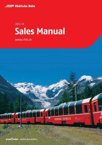Sales Manual - Graubünden