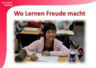 Wo lernen Freude macht - Gymnasium Heidberg