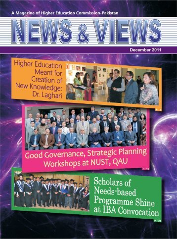 Magazine December 2011 - Higher Education Commission