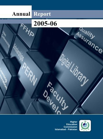 Annual Report 2005-06 - Higher Education Commission