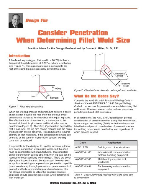 Overvej penetration, når du fastlægger filet svejsestørrelse-2484
