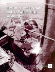 Fabricators' Guide - The James F. Lincoln Arc Welding Foundation