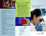 Career brochure - final - Sept 2006.pdf - Ontario Society of Medical ...