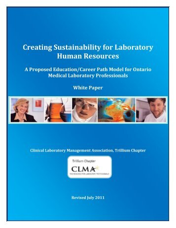 Creating Sustainability for Laboratory Human Resources