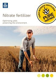 Nitrate Fertilizer – YARA Publication
