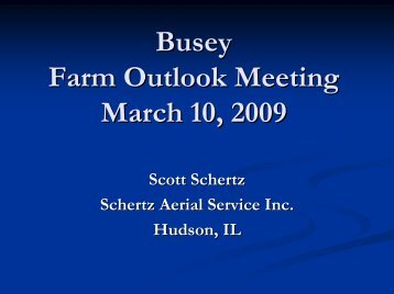 Overall summary of Operations and Fungicides 2009