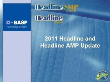 2011 Headline and Headline AMP Update