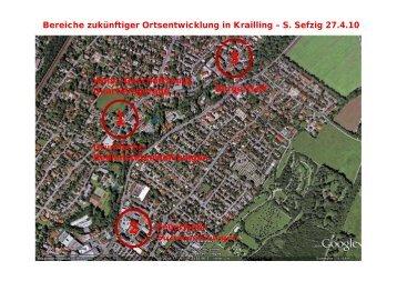 Bereiche zukünftiger Ortsentwicklung in Krailling – S ... - FDP Krailling