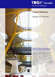 Project Reference Barajas T4 Terminal - Trox