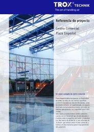 Referencia de proyecto Centro Comercial Plaza Imperial - TROX