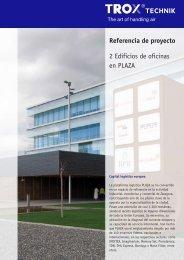Edificio de Oficinas en PLAZA. Zaragoza (.pdf 574 Kb) - Trox