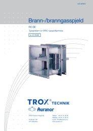 Brann-/branngasspjeld - TROX Auranor Norge as