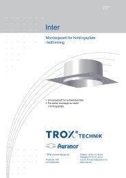 LØV-R Inter - TROX Auranor Norge as