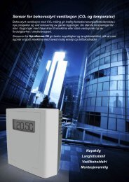 Optosense IAQ Sensor CO2 temp