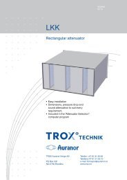 LŲV-R LKK - TROX Auranor Norge as