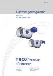 Luftmengderegulator - TROX Auranor Norge as