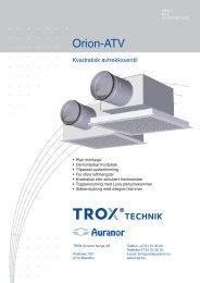 LØV-R Orion-ATV - TROX Auranor Norge as