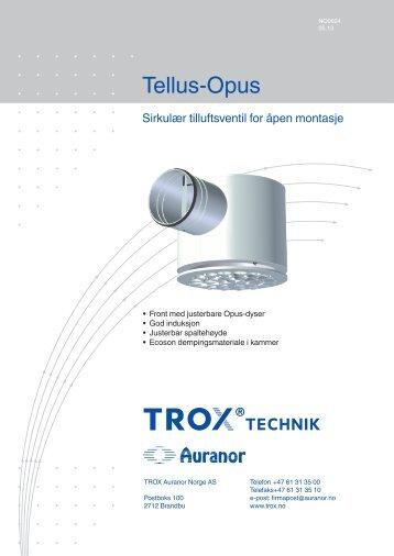 LØV-R Tellus-Opus - TROX Auranor Norge as