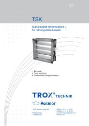 LØV-R TSK - TROX Auranor Norge as