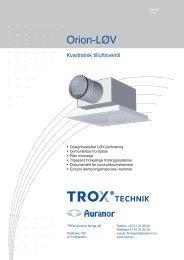 LØV-R Orion-LØV - TROX Auranor Norge as