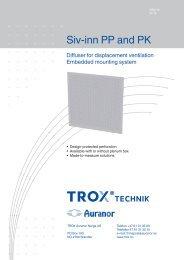 Siv-inn PP og PK - TROX Auranor Norge as