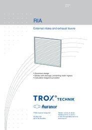 RIA - TROX Auranor Norge as