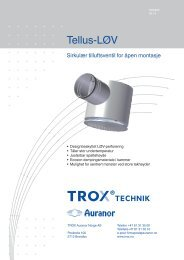 LØV-R Tellus-LØV - TROX Auranor Norge as