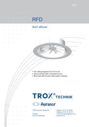 Leaflet RFD - TROX Auranor Norge as
