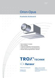 LØV-R Orion-Opus - TROX Auranor Norge as