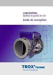 LABCONTROL Guide de conception - TROX