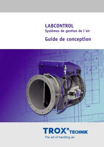 LABCONTROL Guide de conception - TROX