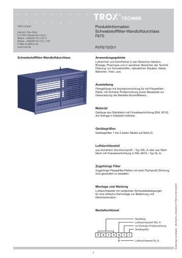 produktinformation zu brandschutzklappen und ventilen trox. Black Bedroom Furniture Sets. Home Design Ideas