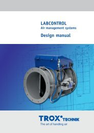 LABCONTROL – Air management systems - TROX