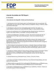 Die Liberalen - FDP Kreisverband Hof Land