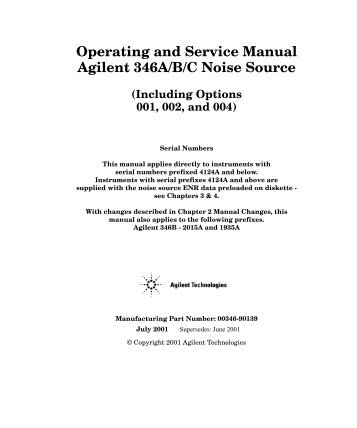 chapter 6 illustrated par rh yumpu com Owner's Manual agilent 7683 service manual