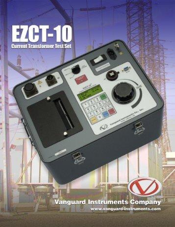 View Vanguard EZCT-10 spec sheet - The Cat Rental Store