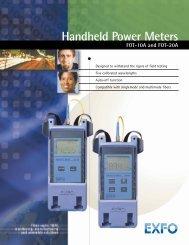 Handheld Power Meters FOT-10A/FOT-20A - Equipland Inc.
