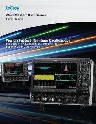 LeCroy WaveMaster 8 Zi Datasheet