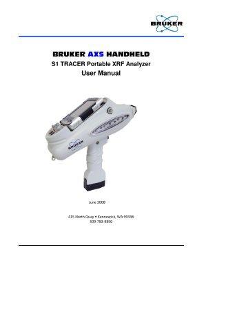 S1 TRACER Portable XRF Analyzer - TRS-RenTelco