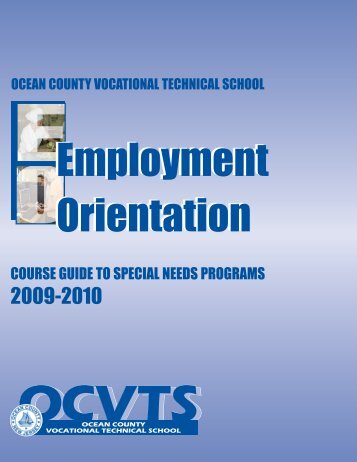 OCVTS Special Needs Course Guide - Toms River Regional Schools