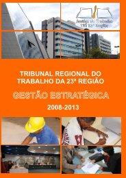 Plano de Gestão - Tribunal Regional do Trabalho - 23ª Região