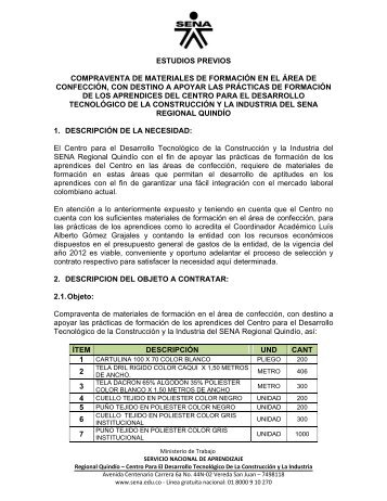 documento adicional - Sena