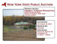 Harriet Tubman Brochure - New York State Surplus Properties