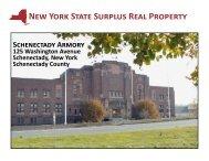 Site Data & Tax Map - New York State Surplus Properties