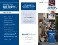 2012 Small Business Brochure - Empire State Development - New ...