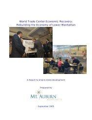 World Trade Center Economic Recovery - Empire State ...