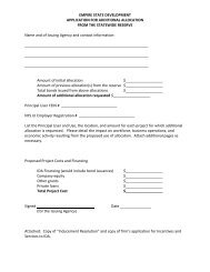Selected Forms and Applications - Empire State Development - New ...