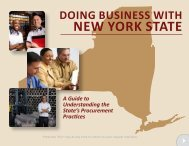 Doing Business With New York State - Empire State Development ...