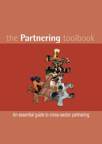 the Partnering toolbook - Vibrant Canada